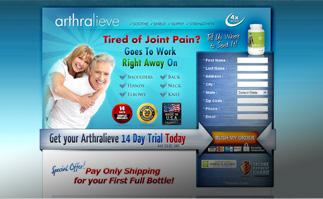 Arthralieve. Arthritis Treatment